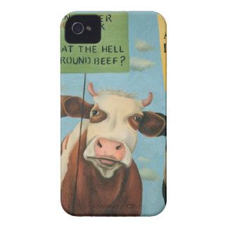 Coque iPhone 4 Case-Mate Vaches en grève
