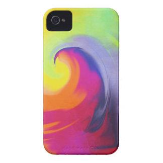 Coque iPhone 4 Case-Mate Vague d'aquarelle - cas iPhone4