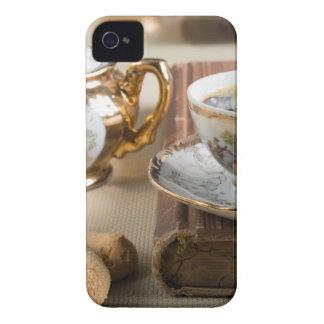 Coque iPhone 4 Case-Mate Vaisselle de porcelaine de l'Allemand de 19ème