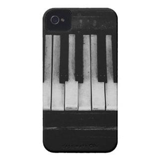 Coque iPhone 4 Case-Mate Vieille musique d'instrument de clavier de piano à