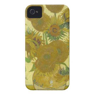 Coque iPhone 4 Case-Mate Vincent van Gogh - tournesols - peinture classique