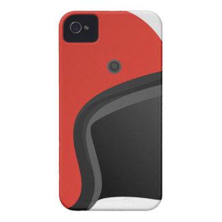 Coque iPhone 4 Casque rouge
