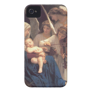 Coque iPhone 4 Chanson des anges - William-Adolphe Bouguereau