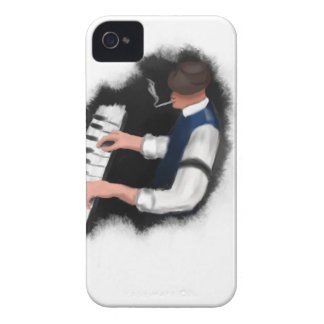 Coque iPhone 4 Chanteur de piano
