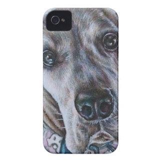 Coque iPhone 4 Conception de dessin de chien de great dane