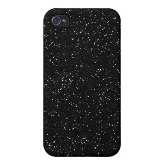 Coque iPhone 4 Conception noire de motif de l'industrie graphique