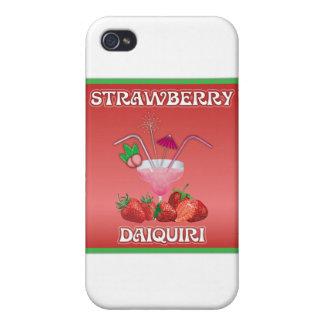 Coque iPhone 4 Daiquiri de fraise
