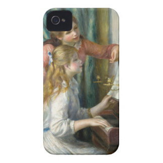 Coque iPhone 4 Deux jeunes filles au piano - Renior