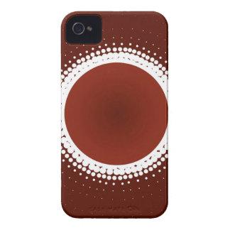 Coque iPhone 4 Éclipses de rouge de rouille