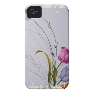 Coque iPhone 4 Fleurs de ressort
