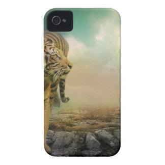 Coque iPhone 4 Grand tigre