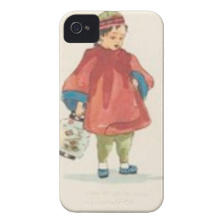 Coque iPhone 4 Illustration chinoise vintage
