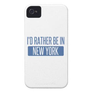 Coque iPhone 4 Je serais plutôt à New York