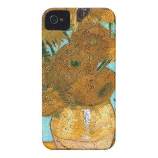Coque iPhone 4 La vie toujours : Tournesols - Vincent van Gogh