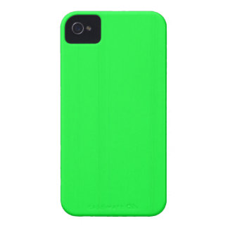 Coque iPhone 4 Le modèle vide simple du vert do-it-yourself