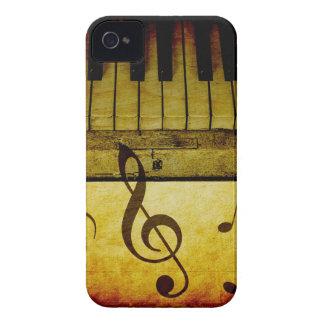 Coque iPhone 4 Le piano verrouille le cru