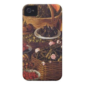 Coque iPhone 4 Le vendeur de fruit en détail par Vincenzo Campi