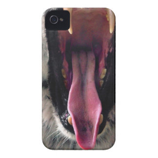 Coque iPhone 4 Mâchoires d'incidence de tigre de locations