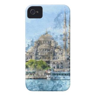Coque iPhone 4 Mosquée bleue à Istanbul Turquie