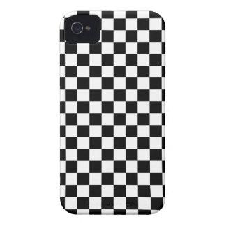 Coque iPhone 4 Motif noir et blanc de contrôle