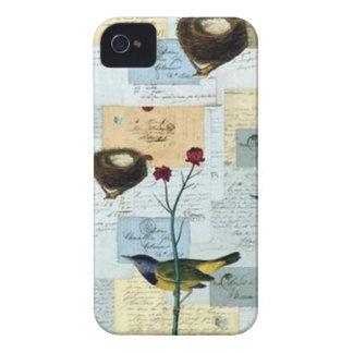 Coque iPhone 4 Nids et petits oiseaux