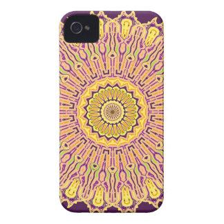 Coque iPhone 4 Nouveau kaléidoscope de no. 21 d'art de bruit