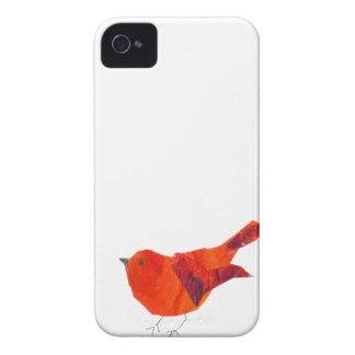 Coque iPhone 4 Oiseau rouge mignon