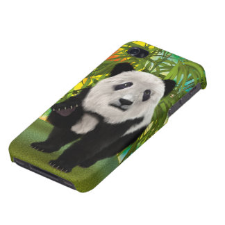 Coque iPhone 4 Ours panda
