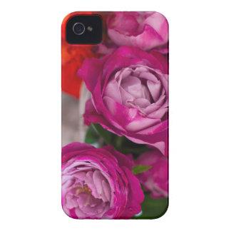 Coque iPhone 4 roses frais