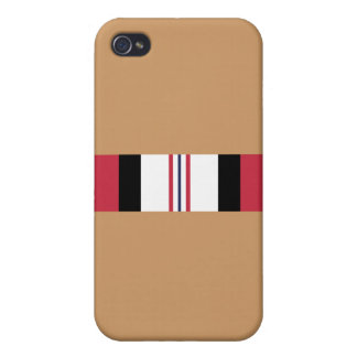 Coque iPhone 4 Ruban militaire de campagne des USA Afghanistan