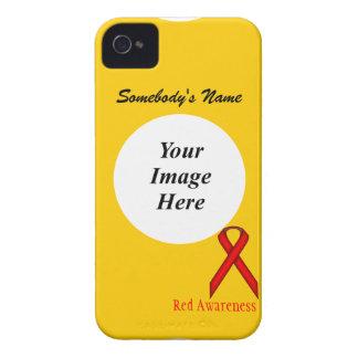 Coque iPhone 4 Ruban standard rouge par Kenneth Yoncich