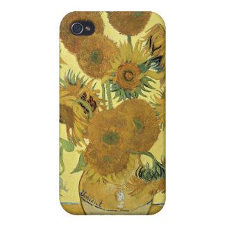Coque iPhone 4 Tournesols de Vincent van Gogh |, 1888