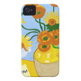 Coque iPhone 4 Tournesols Van Gogh