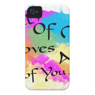 Coque iPhone 4 Tout le moi amours tous de vous