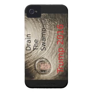 Coque iPhone 4 Vidangez la conception politique d'Atout-Clinton