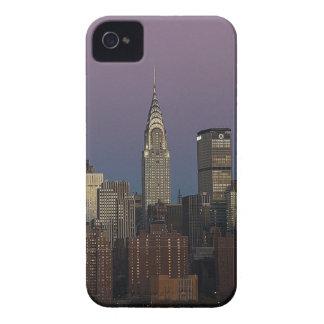 Coque iPhone 4 Ville Manhattan New York d'horizon