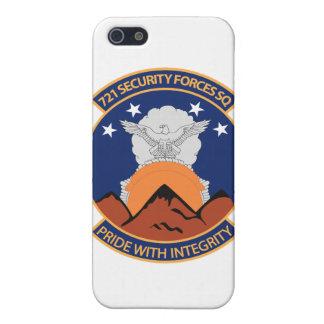 Coque iPhone 5 721st Escadron de forces de sécurité