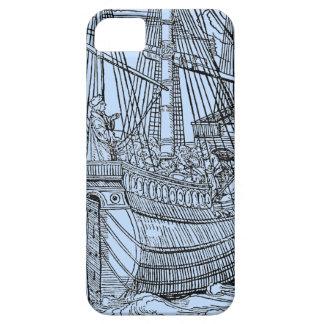 Coque iPhone 5 Bateau de navigation de galion