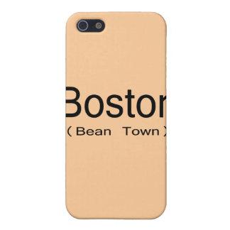 Coque iPhone 5 Boston (ville d'haricot)