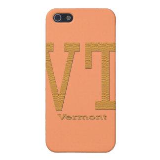 Coque iPhone 5 Brun de VT du Vermont