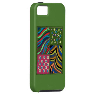 Coque iPhone 5 Caisse verte tropicale de l'iPhone 5/5s Casemate