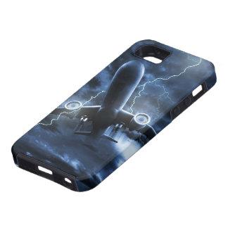 Coque iPhone 5 Cas dur de l'iPhone 5 de foudre d'avion