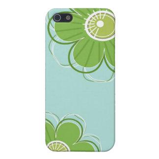 Coque iPhone 5 Cas floral de l'iPhone 5