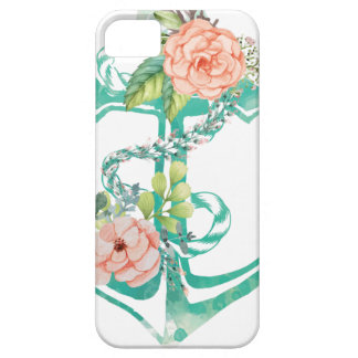 Coque iPhone 5 Case-Mate Ancre et roses