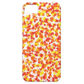 Coque iPhone 5 Case-Mate Arrière - plan épongé par encre de Shirley Taylor