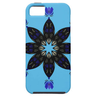 Coque iPhone 5 Case-Mate Bleu de mandala