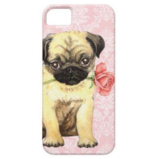 Coque iPhone 5 Case-Mate Carlin rose de Valentine