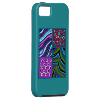 Coque iPhone 5 Case-Mate Cas tropical de l'iPhone 5/5s Casemate de
