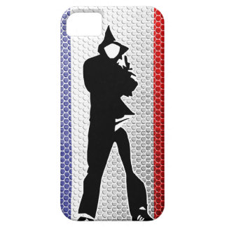 Coque iPhone 5 Case-Mate drapeau français / silhouette