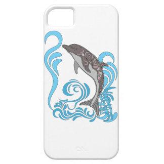 Coque iPhone 5 Case-Mate Éclaboussement de dauphin